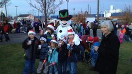 Night of 1,000 Santas Festival & Night Lights Parade in Pocatello Idaho