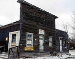 The abandoned Henry's Store near Chesterfield