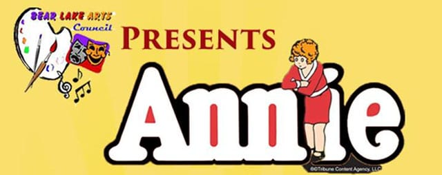 Annie the Musical in Montpelier Idaho