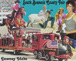 Downey Fair Postcard