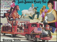 South Bannock County Fair postcard