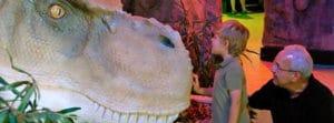Be the Dinosaur Exhibit at the Idaho Museum of Natural History (IMNH) at Idaho State University.