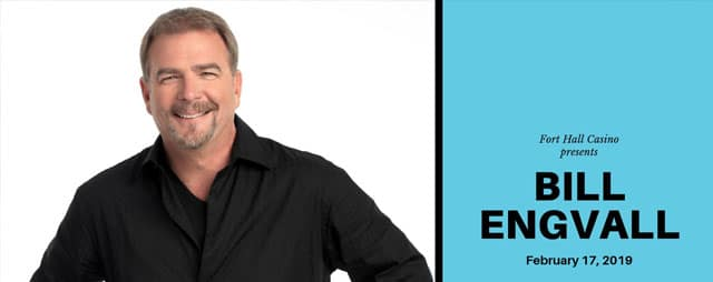 Bill Engvall at the Chiefs Event Center in Fort Hall