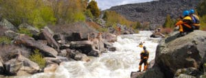 Black Canyon of The Bear Whitewater Festival in Grace Idaho