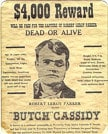 Butch Cassidy and his gang robbed the Bank of Montpelier, Idaho.