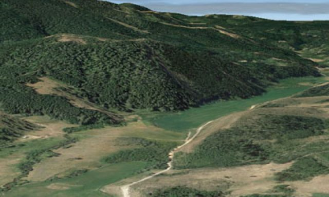 Eight Mile Trail Head