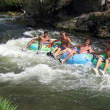 Portneuf River in Lava Hot Springs