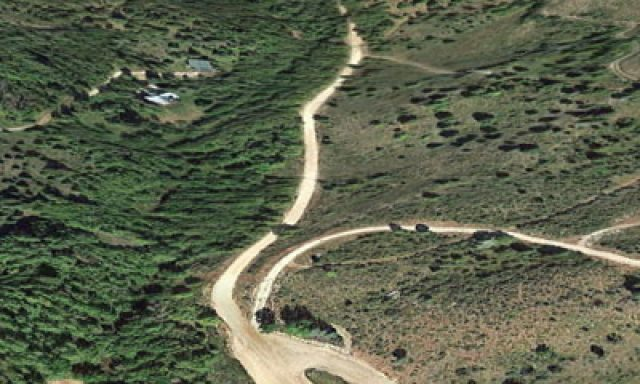 Fish Haven Canyon Trail Head