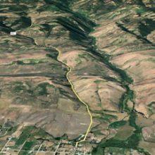 Saint Charles Green Canyon Trail Head