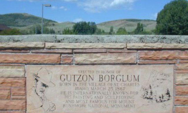 Gutzon Borglum Monument