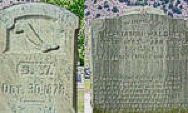 One Man Two Headstones at Malad Cemetery
