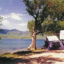 Twin Lakes and Campground