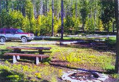 Caribou-Targhee National Forest Campgrounds