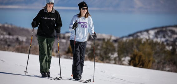 Cross Country Skiing or Nordic Skiing in Southeast Idaho