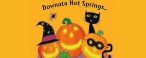 Downata Hot Springs Halloween Party