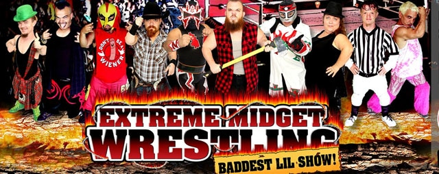 Extreme Midget Wrestling in Lava Hot Springs Idaho