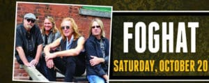 Foghat at the Chiefs Event Center in Fort Hall Idaho