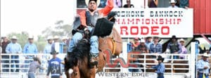 Fort Hall Rodeo - photo by Western Edge Photography