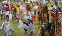 Shoshone Bannock Indian Festival in Fort Hall, Idaho