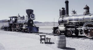 "Franklin Relic Hall ""Rails Into The West"" Railroad Exhibit"