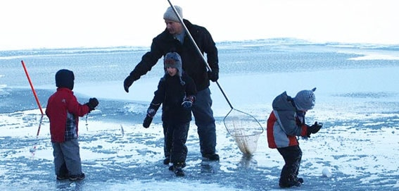 Ice Fishing on Southeast Idaho lakes and reservoirs
