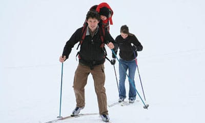 Cross Country Skiing on Idaho Trails