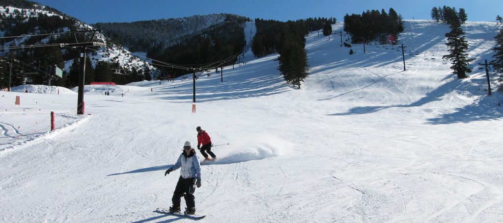 Skiing in Southeast Idaho at Pebble Creek Ski Area