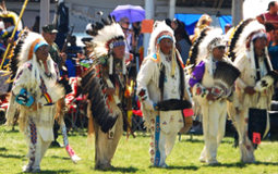 Indian Chiefs at the Pow Wow