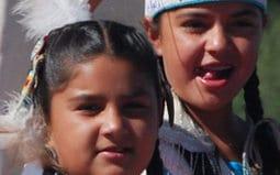 Children in Native American Dress