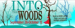 Into the Woods theatre in Pocatello Idaho