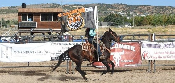 Idaho State University Bengal Rodeo in Pocatello Idaho
