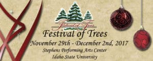 Festival of Trees at L.E. And Thelma E. Stephens Performing Arts Center