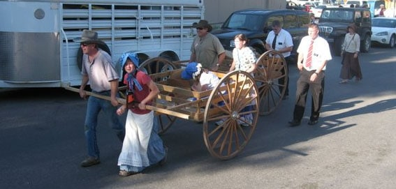 Founder's Day Parade in Lava Hot Springs, ID
