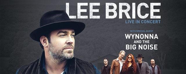 Lee Brice with Wynonna & The Big Noise in Pocatello Idaho