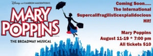 Mary Poppins musical in Blackfoot Idaho
