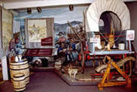 Massacre Rocks Visitor's Center Museum