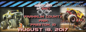 Monster Truck Insanity Tour in Preston Idaho