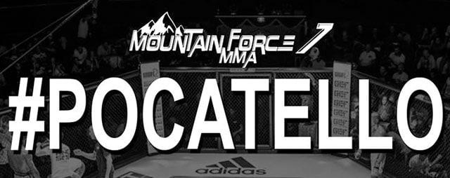 Mountain Force MMA fight night in Pocatello Idaho