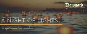 A Night of Lights Water Lantern Festival in Pocatello Idaho
