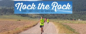 Nock the Rock Half Marathon in Soda Springs Idaho