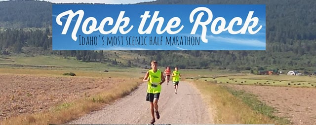 Nock the Rock Half Marathon in Soda Springs Idaho