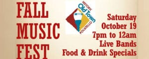 Fall Music Fest Hosted by Old Town Pocatello