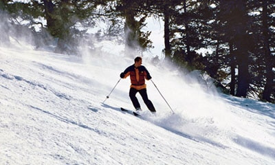 Pebble Creek Ski Resort near Pocatello, Idaho
