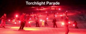 Pebble Creek Torchlight Parade and Snowball