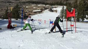 Pebble Creek Ski Area Town Challenge Race
