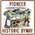 National Pioneer Historic Byway Marker