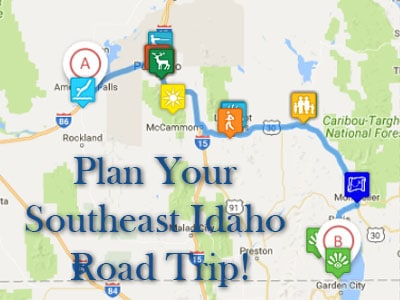 Plan your Idaho Road Trip!