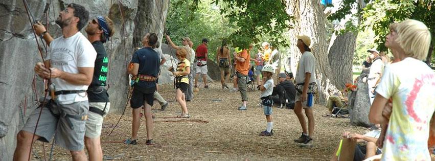 Pocatello Pump Rock Climbing Event
