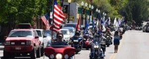 Pow Mia Annual Thunder Run in Pocatello, Downey & Lava Hot Springs Idaho