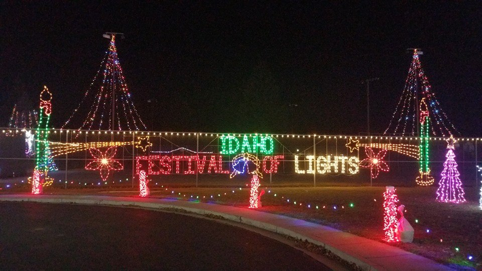 Preston Idaho Festival Of Lights Southeast Idaho